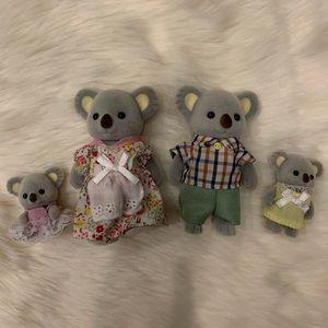 Calico Critters Koala Family of 4 Set